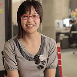Ruth works as a site reliability engineer for Pinterest to help improve the experience for engineers. Discover more about her career path, responsibilities, and salary with this Khan Academy Career Profile.